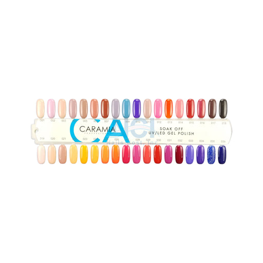 Caramia Nail Lacquer And Gel Polish Tips Sample, #01, From 001 To 036 KK