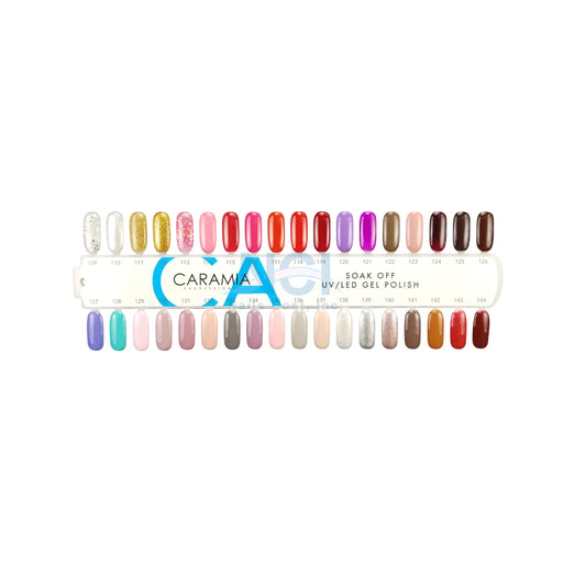 Caramia Nail Lacquer And Gel Polish Tips Sample, #04, From 109 To 144 KK
