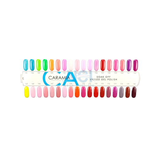 Caramia Nail Lacquer And Gel Polish Tips Sample, #05, From 145 To 180 KK