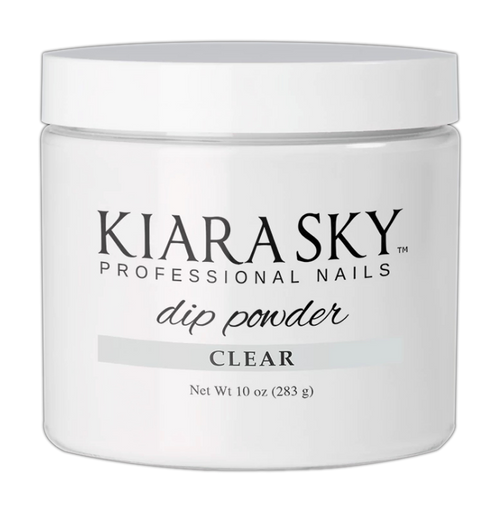 Kiara Sky Dipping Powder, Clear, 10oz KK1106