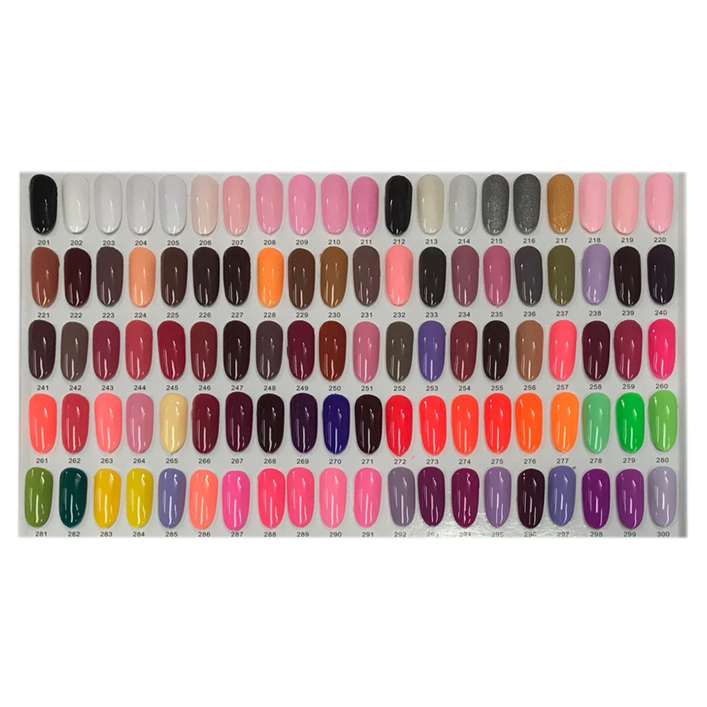Apple Dipping Powder Color Chart 1 From 201 To 300 Nails Cost Inc