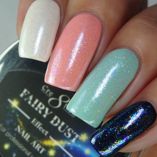 Cre8tion Nail Art Pigment Fairy Dust, 5g, 01 BB