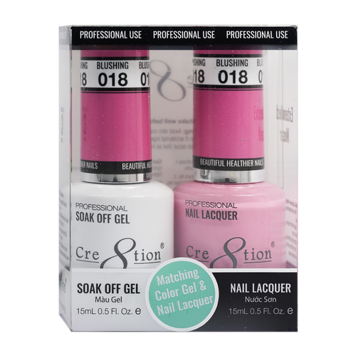 Cre8tion Gel Polish And Nail Lacquer, 0916-0859, 0.5oz, 018 KK0919