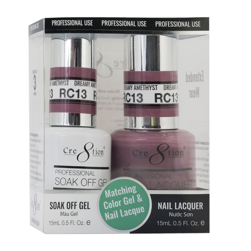 Cre8tion Gel Polish & Nail Lacquer, Rustic Collection, RC13, 0.5oz KK1712