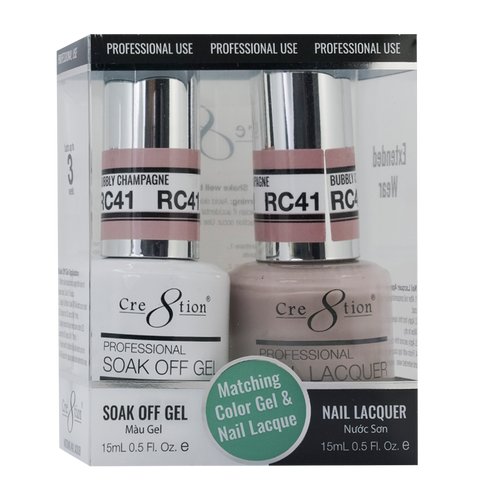 Cre8tion Gel Polish & Nail Lacquer, Rustic Collection, RC41, 0.5oz KK1712