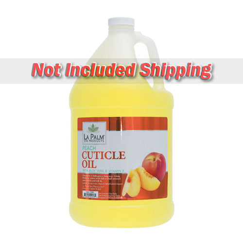 La Palm, Organic Cuticle Oil, Peach, 1Gal  KK