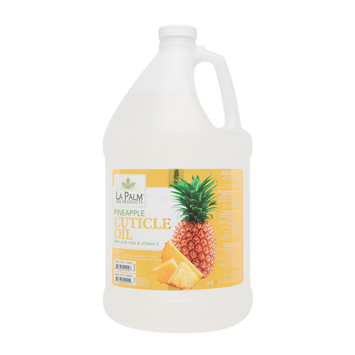 La Palm, Organic Clear Cuticle Oil, Pineapple, 1Gal  KK