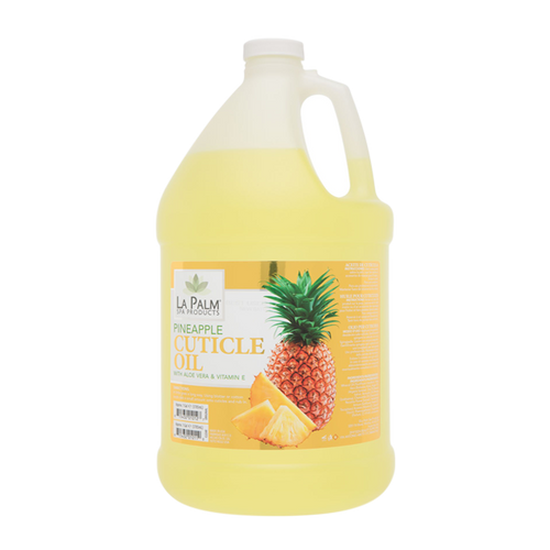 La Palm, Organic Cuticle Oil, Pineapple, 1Gal KK