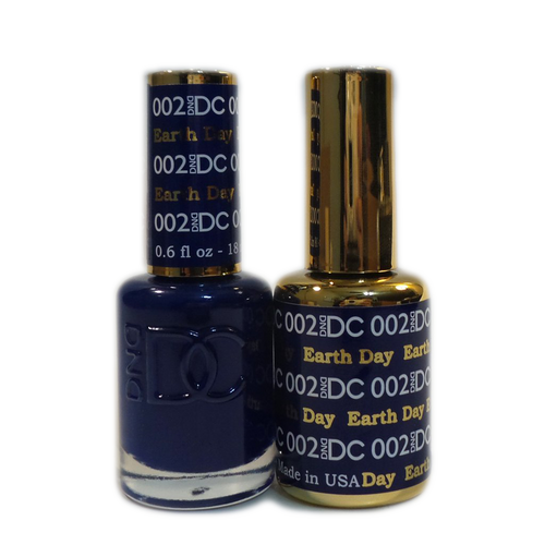 DC Nail Lacquer And Gel Polish (New DND), DC002, Earth Day, 0.6oz KK1015