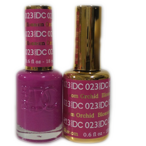 DC Nail Lacquer And Gel Polish (New DND), DC023, Blossom Orchid, 0.6oz KK1108