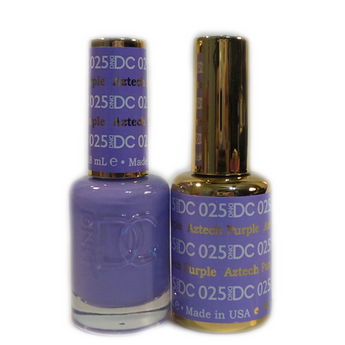 DC Nail Lacquer And Gel Polish (New DND), DC025, Aztech Purple, 0.6oz KK1012