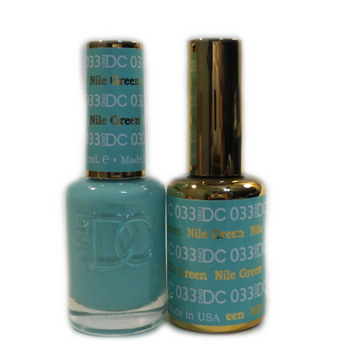 DC Nail Lacquer And Gel Polish (New DND), DC033, Nile Green, 0.6oz KK1108