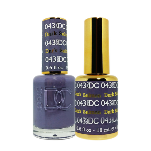 DC Nail Lacquer And Gel Polish (New DND), DC043, Darl Salmon, 0.6oz KK1012