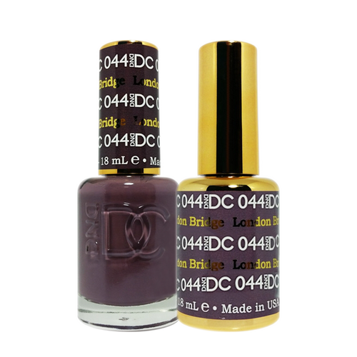 DC Nail Lacquer And Gel Polish (New DND), DC044, London Bridge, 0.6oz KK0918