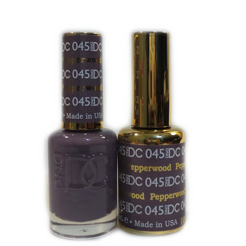 DC Nail Lacquer And Gel Polish (New DND), DC045, Pepperwood, 0.6oz KK1012
