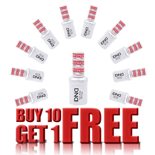 DND Non Cleansing Top, 0.5oz, 600,  Buy 10 Get 1 FREE