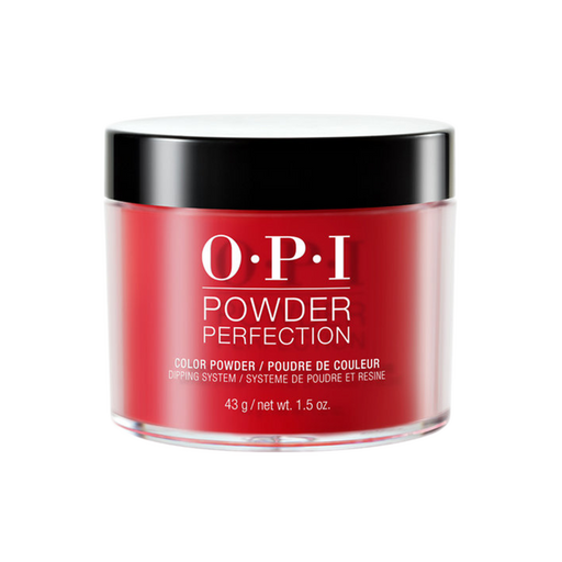 OPI Dipping Powder, DP N25, Big Apple Red, 1.5oz BB OK1210