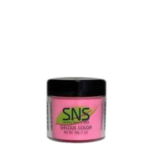 SNS Gelous Dipping Powder, DS07, Designer Series Collection, 1oz BB KK