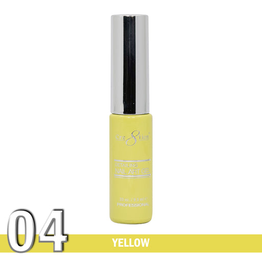 Cre8tion Detailing Nail Art Gel, 04, Yellow, 0.33oz KK1025