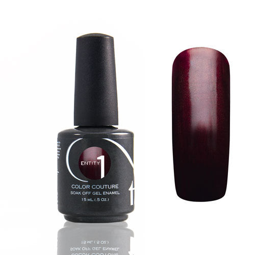 Entity One Color Couture Gel Polish, 101517, Draped In Drama, 0.5oz