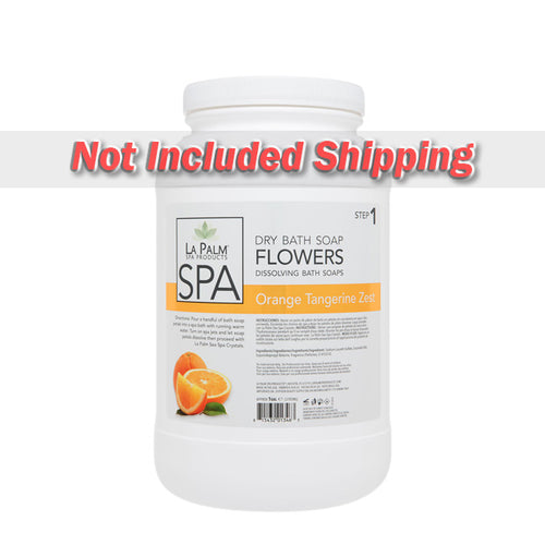 La Palm, Dry Bath Soap, Flowers, Orange Tangerine Zest, 1Gal KK