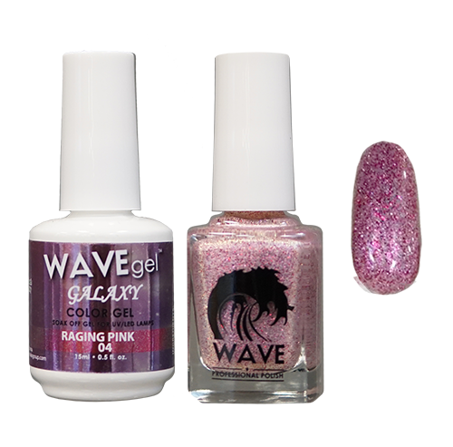 Wave Gel Dipping Powder + Gel Polish + Nail Lacquer, Galaxy Collection, 04 OK1129