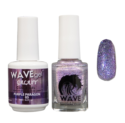 Wave Gel Dipping Powder + Gel Polish + Nail Lacquer, Galaxy Collection, 05 OK1129
