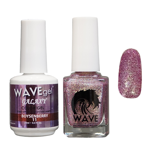 Wave Gel Dipping Powder + Gel Polish + Nail Lacquer, Galaxy Collection, 11 OK1129