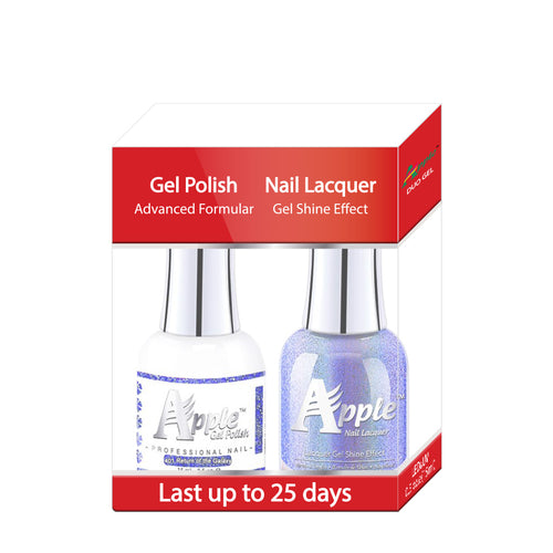 Apple Nail Lacquer & Gel Polish, 5G Collection, 401, Return To The Galazy, 0.5oz KK1025