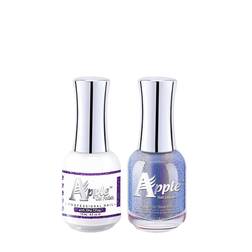 Apple Nail Lacquer & Gel Polish, 5G Collection, 405, Sky Drop, 0.5oz KK1016