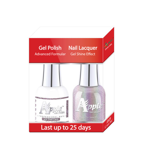 Apple Nail Lacquer & Gel Polish, 5G Collection, 409, Pearl Land, 0.5oz KK1025