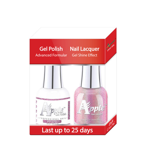 Apple Nail Lacquer & Gel Polish, 5G Collection, 594, Furry Bow, 0.5oz KK1025