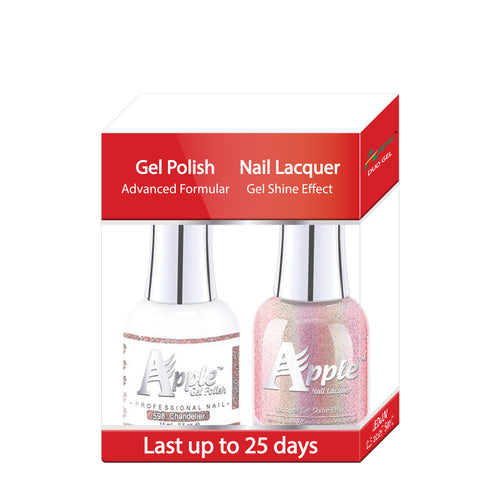 Apple Nail Lacquer & Gel Polish, 5G Collection, 598, Chandelier, 0.5oz KK1016