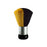 Cre8tion Dust Brush Large, YELLOW, 10395-Y (Packing: 24 pcs/box, 4 boxes/case)