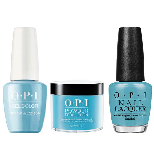 OPI 3in1, E75, Can't Find My Czechbook