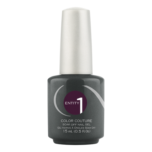 Entity One Color Couture Gel Polish, 101247, Midnight Runway, 0.5oz