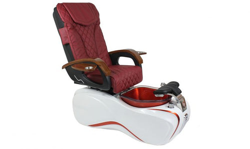 ELo, Pedicure Spa Chair, Red KK (NOT Included Shipping Charge)