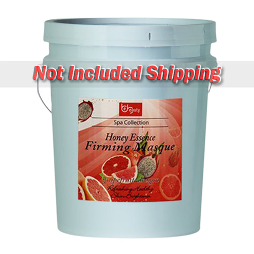 Be Beauty Spa Collection, Honey Essence Firming Masque, Grapefruit & Dragon, 5Gallon KK0511