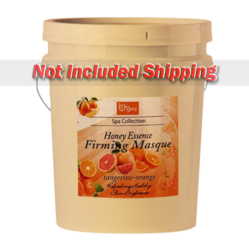 Be Beauty Spa Collection, Honey Essence Firming Masque, Tangerine & Orange, 5Gallon KK0511