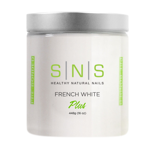 SNS Dipping Powder, 02, FRENCH WHITE, 16oz KK1213