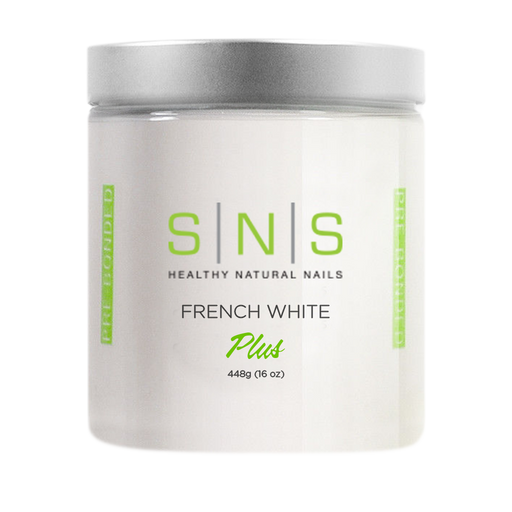SNS Dipping Powder, 02, FRENCH WHITE, 16oz, 18pcs/case OK0118VD