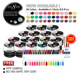 Cre8tion Signature Designer Gel, 7.5g, Full line of 36 Colors (from 01 to 36)