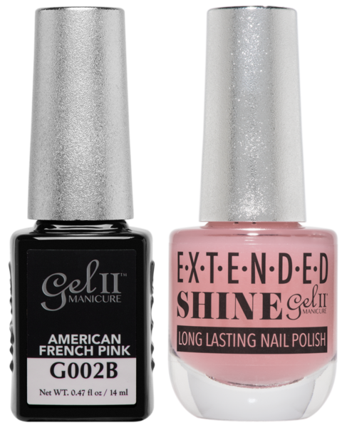 Gel II Manicure And Extended Shine, G002B, American French Pink, 0.47oz KK