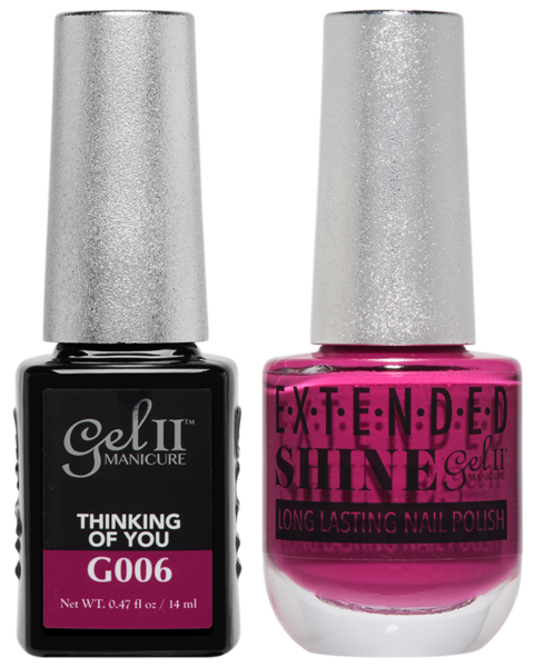 Gel II Manicure And Extended Shine, G006, Thinking Of You, 0.47oz KK