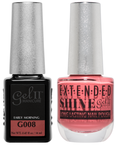 Gel II Manicure And Extended Shine, G008, Early Morning, 0.47oz KK