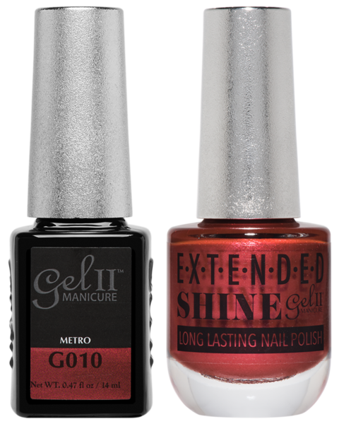 Gel II Manicure And Extended Shine, G010, Metro, 0.47oz KK