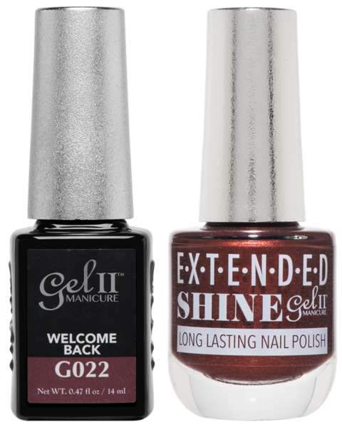 Gel II Manicure And Extended Shine, G022, Welcome Back, 0.47oz KK