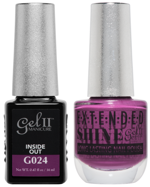 Gel II Manicure And Extended Shine, G024, Inside Out, 0.47oz KK