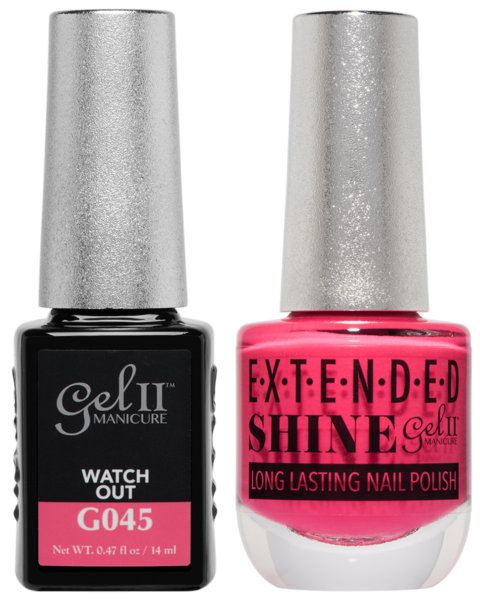 Gel II Manicure And Extended Shine, G045, Watch Out, 0.47oz KK