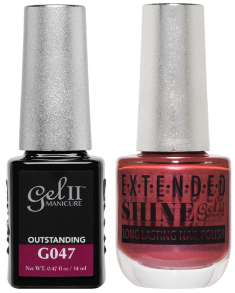 Gel II Manicure And Extended Shine, G047, Outstanding, 0.47oz KK